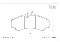 Тормозные колодки Endless PR01 EIP153 Porsche 911 (997) GT3 front