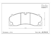 Тормозные колодки Endless PR01 EIP216 Porsche Carrera 911 991 для PCCB передние