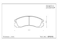 Тормозные колодки Endless CC-Rg EP242 (F533) Mitsubishi EVO I-X