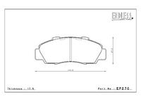 Тормозные колодки Endless Y-Sports EP270 (F333) Honda Integra DC2/DB8, NSX NA1/2, Civik EK9, Odyssey RA1-5