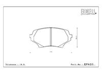 Тормозные колодки Endless MA45B EP431 Mazda MX5 передние