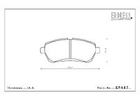 Тормозные колодки Endless NS97 EP487 Suzuki Swift