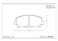 Тормозные колодки Endless NS97 EP490 Honda Accord VIII (2pot)