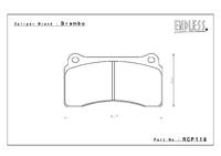 Тормозные колодки Endless MX72 RCP118 17.5мм зад Nissan GT-R R35